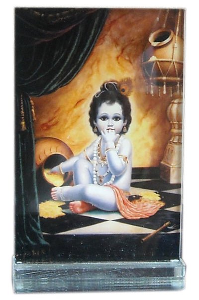 Butter Gopal Acrylic Picture