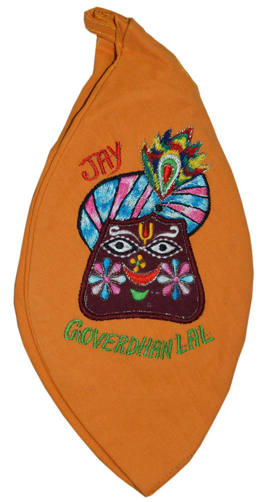 GoverdhanLal - Orange Bead Bag