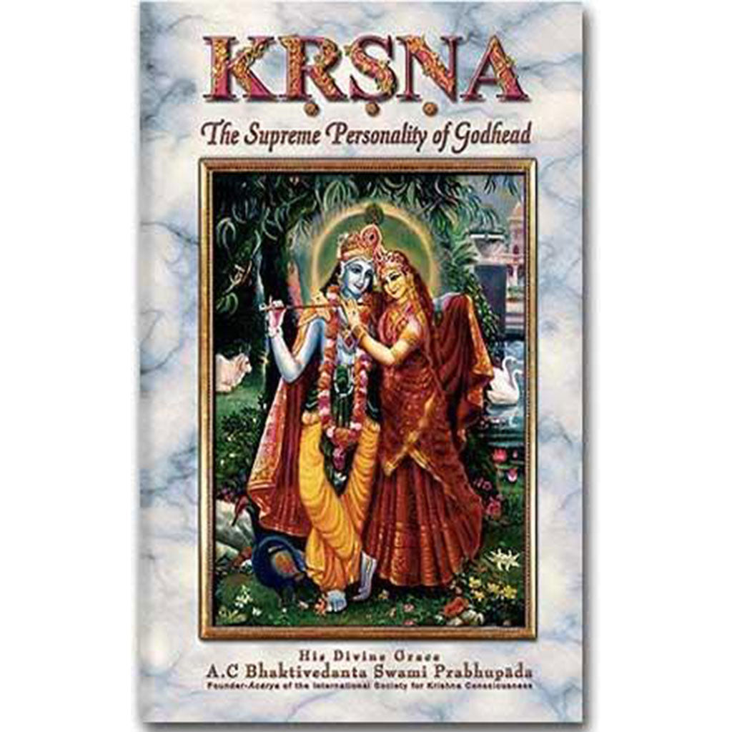 Krsna, the Supreme Personality of Godhead -One Volume- Hard Cover