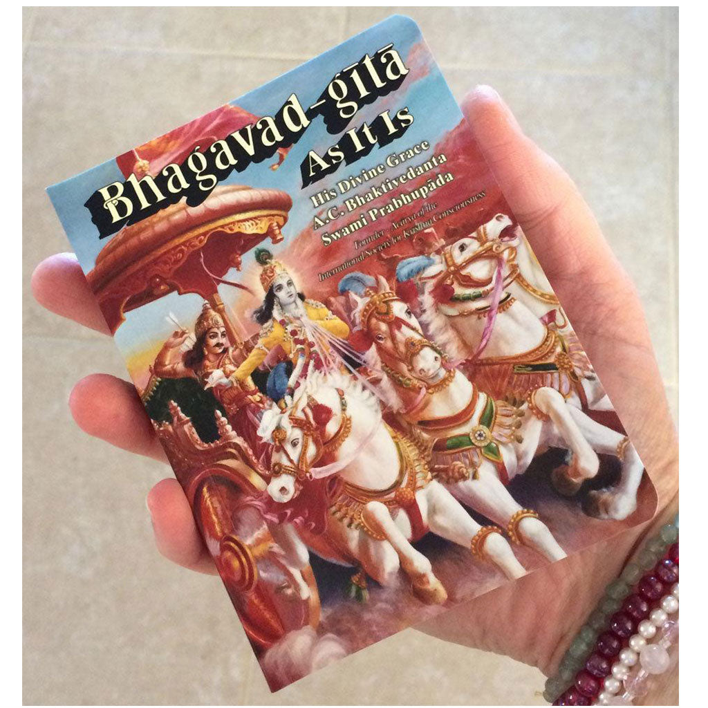 Bhagavad-Gita As It Is by Srila Prabhupada 1972 Edition (Pocket Size)