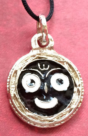 Jagannath Black and White Pendant