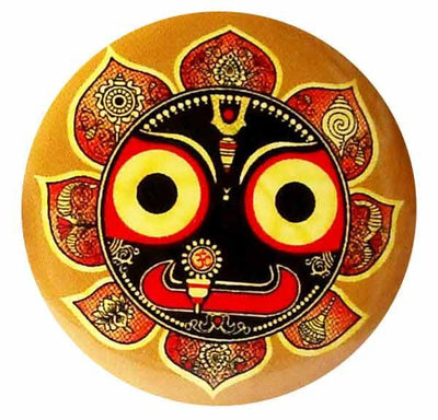 Jagannath Swami Button