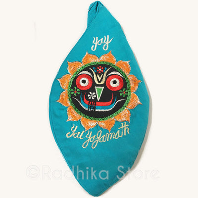 Jai Jagannath - Teal- Bead Bag