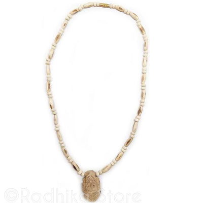 Jagannath Swami Pendant- Tulsi Necklace