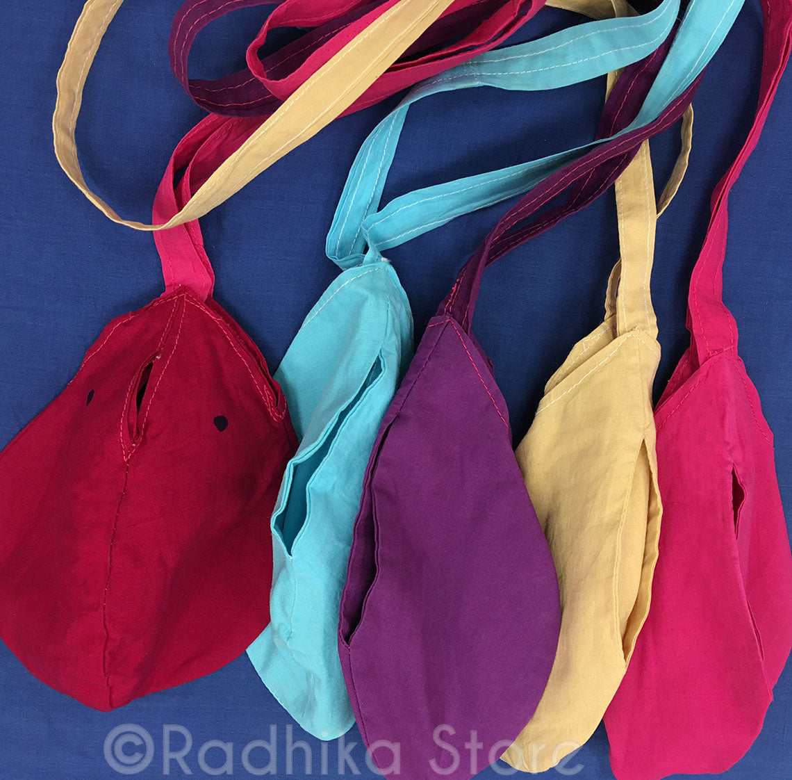 Childrens Small Cotton - Bead Bags