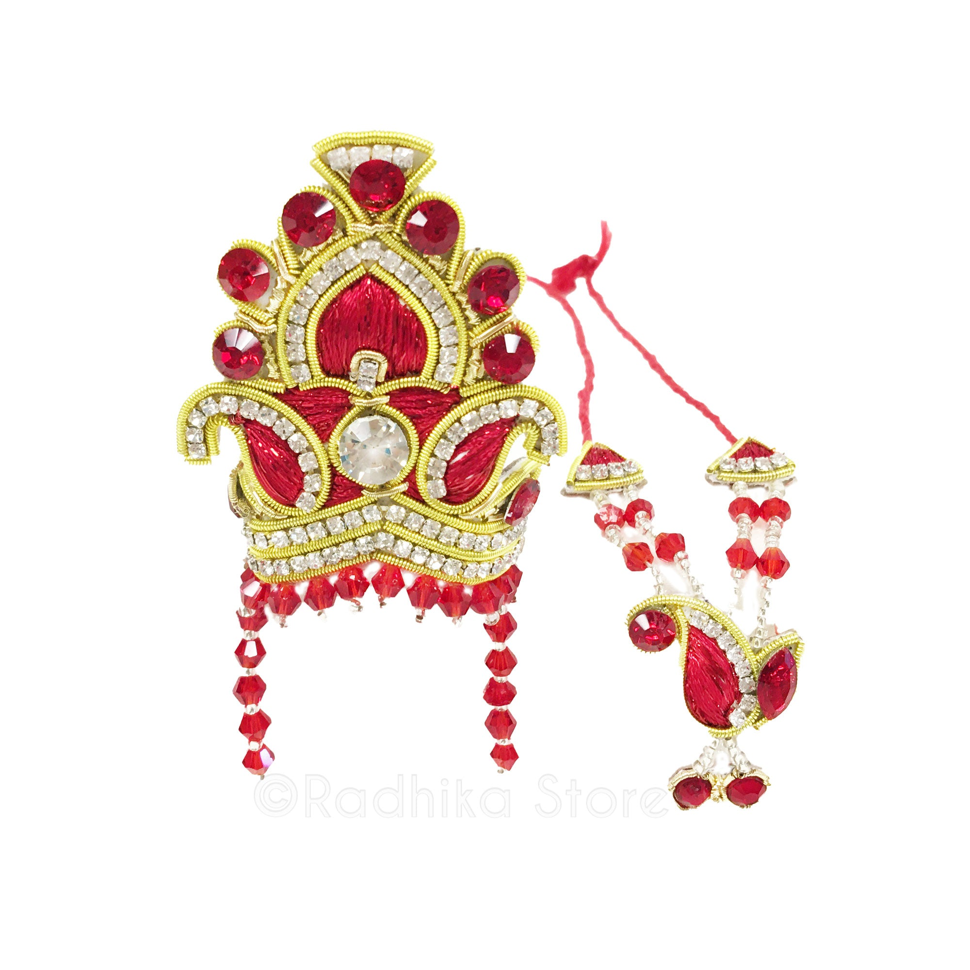 Lord of The Universe - Deity Crown and Necklace Set