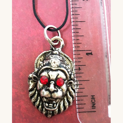 Jeweled Lord Narasimhadeva Pendant - Protection Mood (Medium)