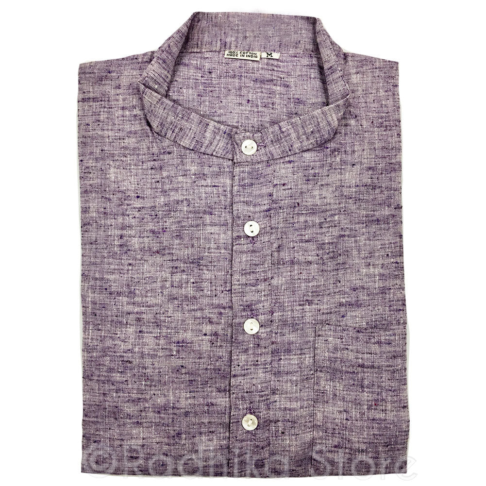 Purple Tweed Jute Kurtas - S,m,l,xl,