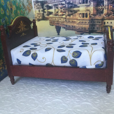 Krishna Peacock Color Beds (Two beds to choose from)