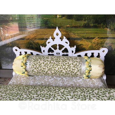 "Chakra Lotus Sunflower Bed - 13"" Inch"