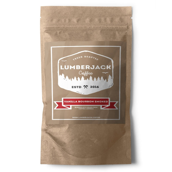 Vanilla Bourbon Smoked Coffee - Lumberjack Coffee
