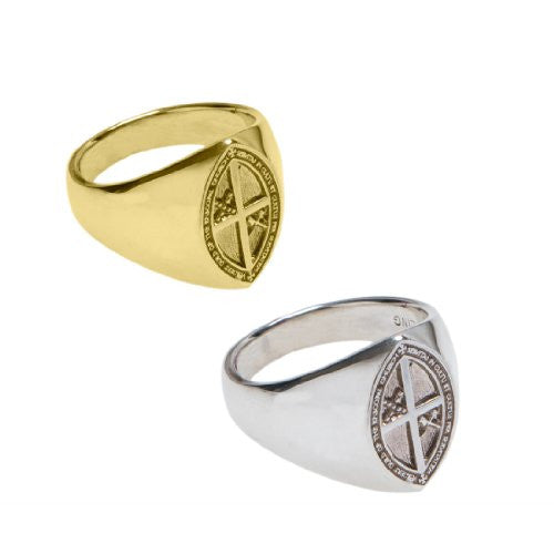 Women's signet ring