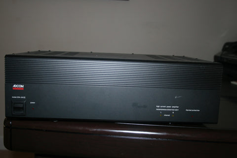 ADCOM Stereo Power Amplifier Model: GFA-545 II