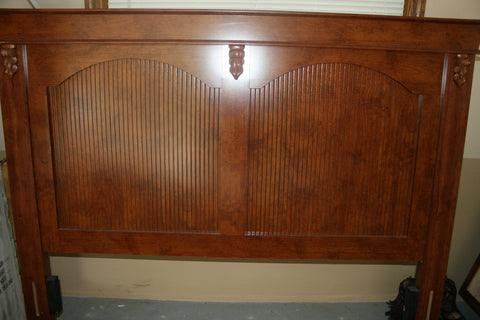 Wood Headboard for Queen bed (Mahogany)