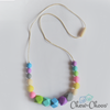 rainbow teething beads for mom