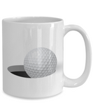 Obsessed With Balls - Golf Lover's Funny Mug