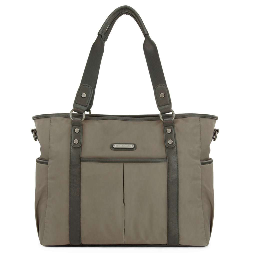 diaper-bag-classic-tote-diaper-bag-soho graphite