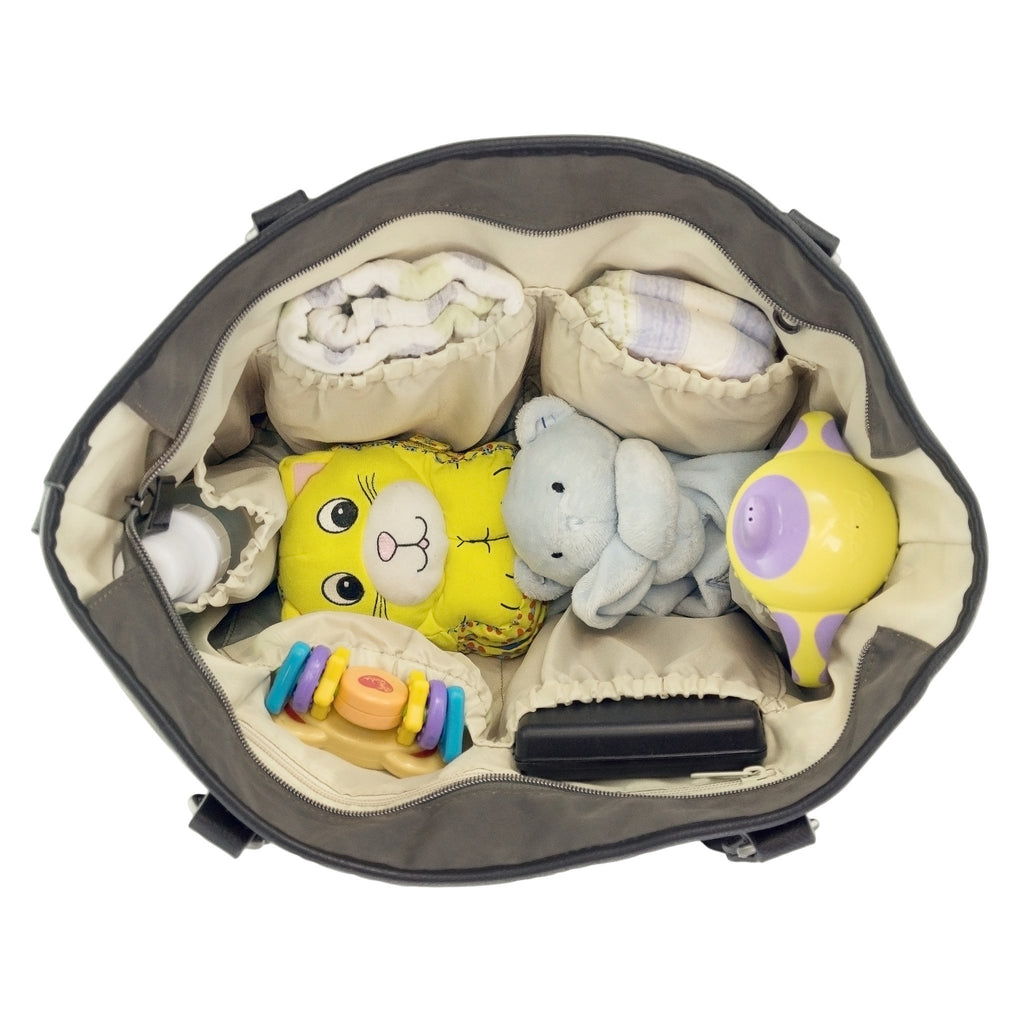 toys bottles thermal diaper bag with everything
