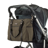 diaper-bag-classic-tote-portable on stroller
