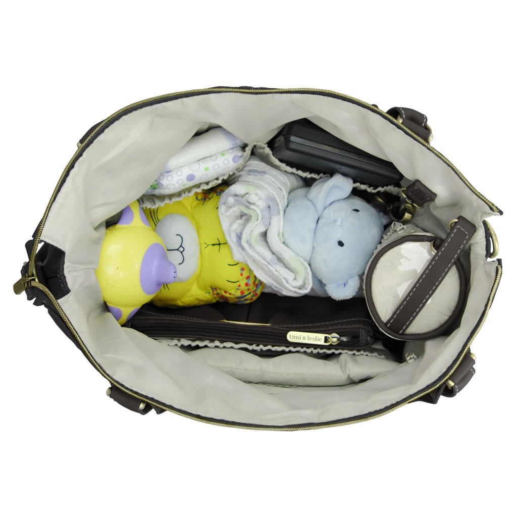 large storage diaper bag