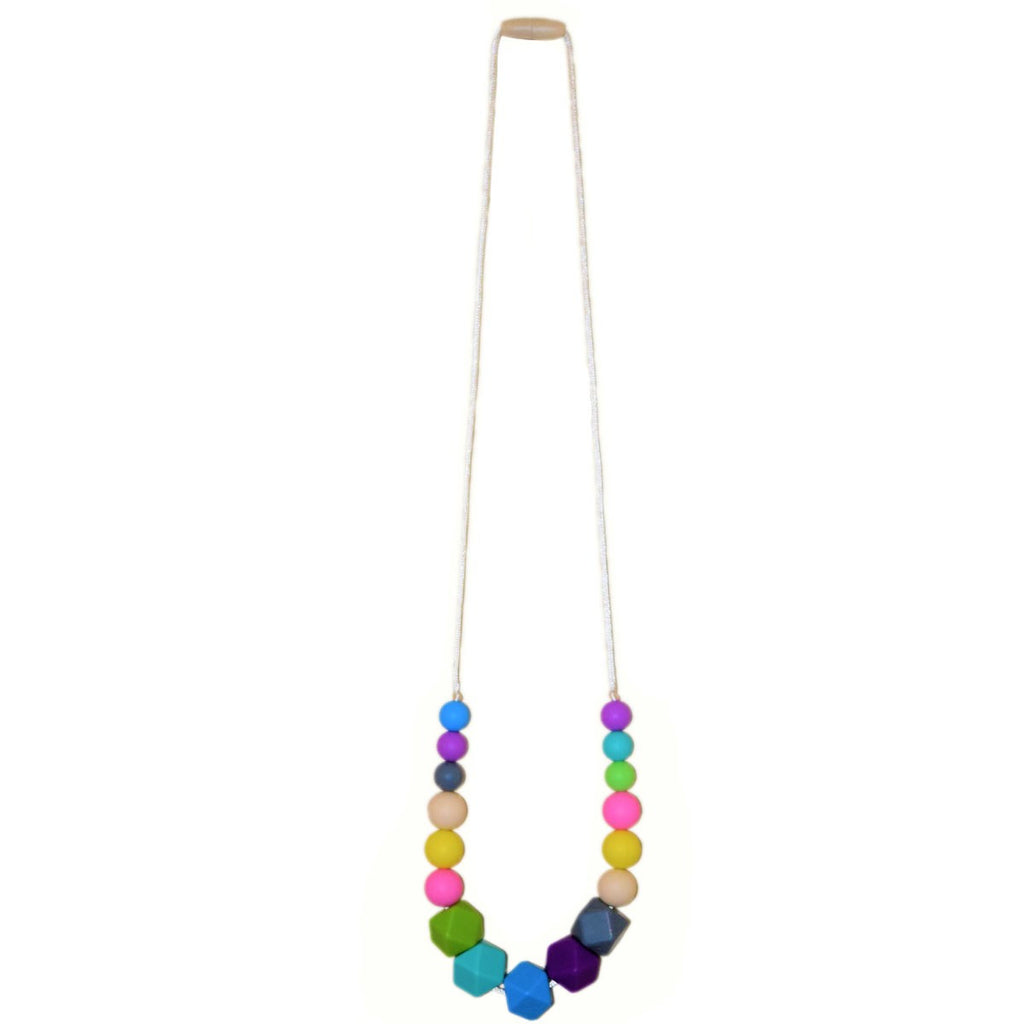 chew choos rainbow teething beads for mom