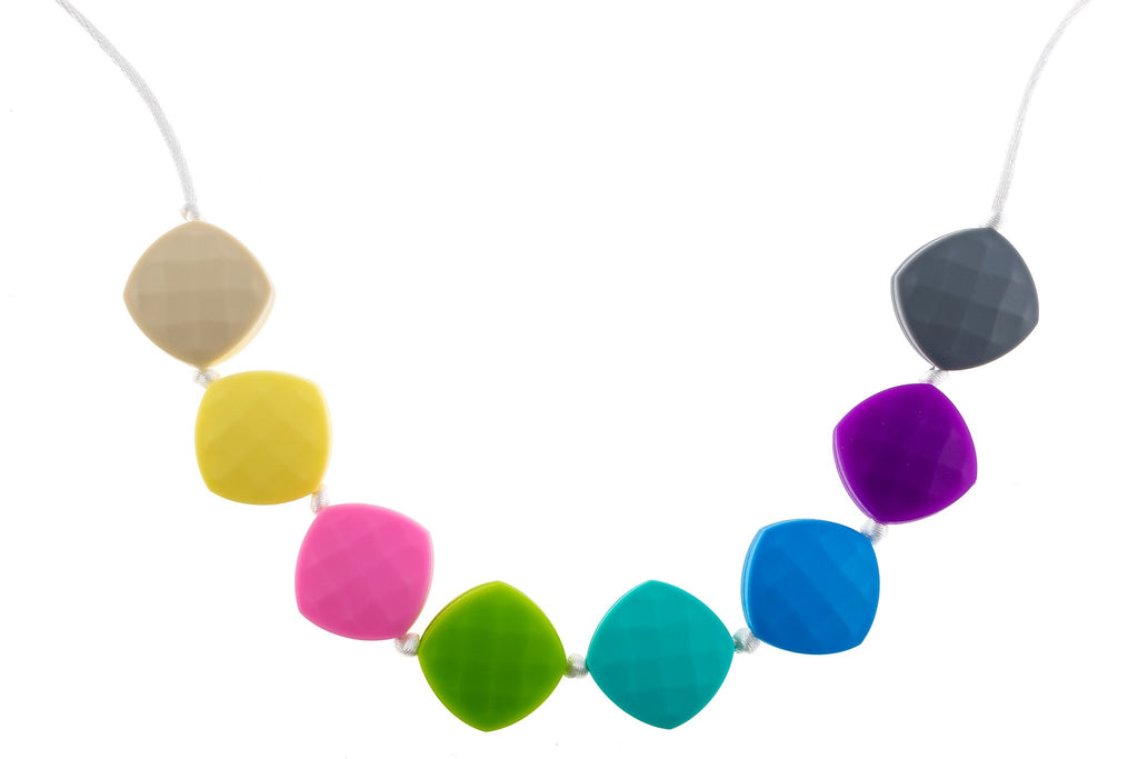 best young child teething necklace safe to chew small great for special needs sensory issues