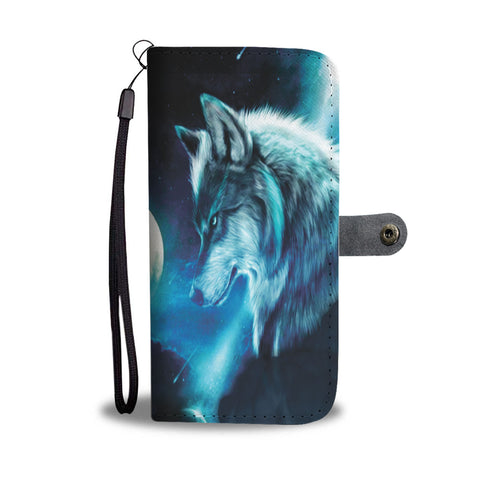 Moon Wolf Cellphone Wallet 2