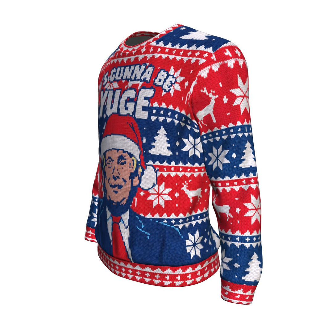 It's Gonna Be Yuge Christmas Sweatshirt