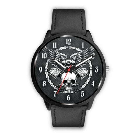 Skull and Pistons Watch