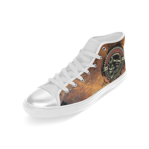 Raging Biker Canvas High Tops