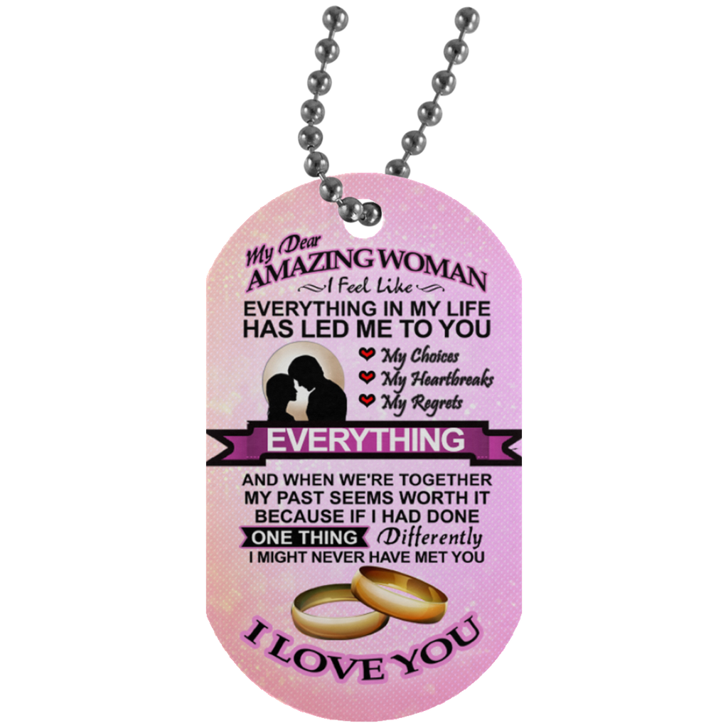 My Dear Amazing Woman Necklace