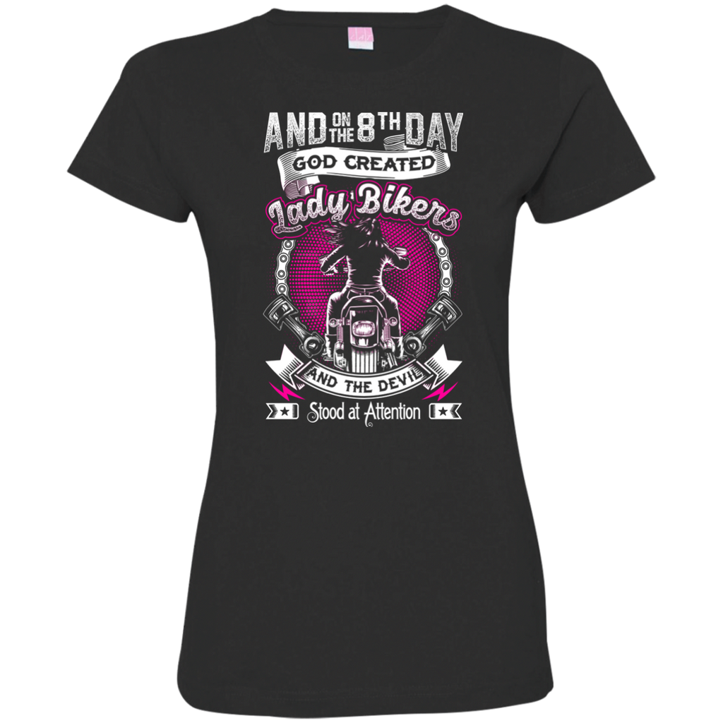 Ladies' 8th Day Fitted T-Shirt