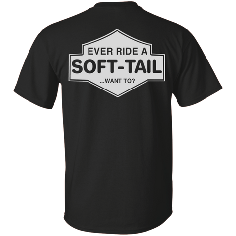 Image of Ever Ride A Soft Tail T-Shirt