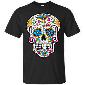 Cross Sugar Skull Shirt