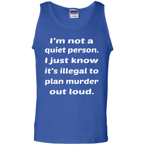 Image of Not A Quiet Person Tank Top