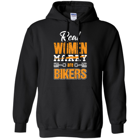 Real Women Are Bikers Hoodie