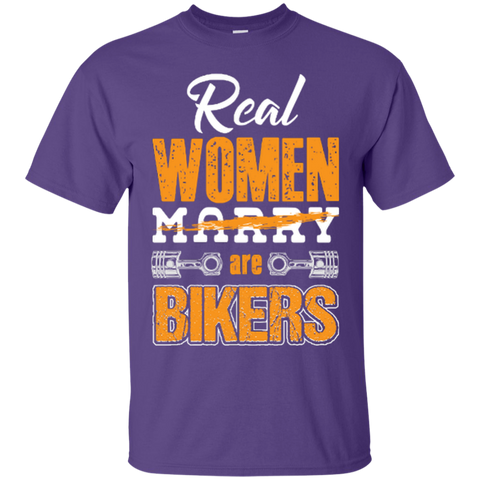 Image of Real Women Are Bikers T-Shirt