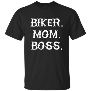 Biker Mom Boss T-Shirt