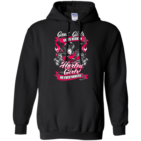 Harley Girls Go Everywhere Hoodie