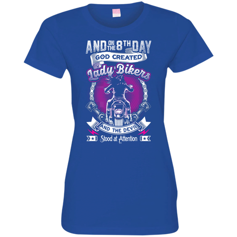 Image of Ladies' 8th Day Fitted T-Shirt