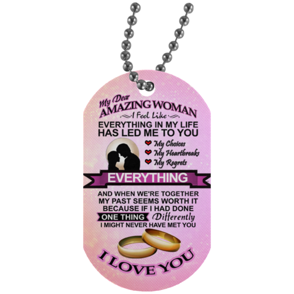 (On Sale) My Dear Amazing Woman Necklace
