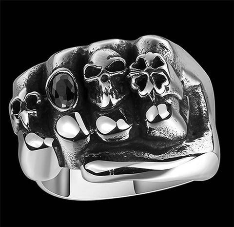 Stainless Steel Knuckle Ring
