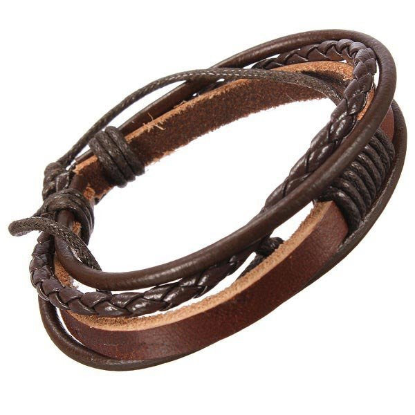 Hand Woven Leather Bracelet