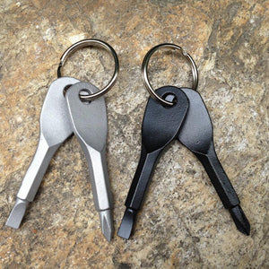 Stainless Steel Screwdriver Keychain
