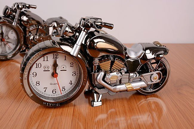 alarm clocks vintage motorcycle alarm clock