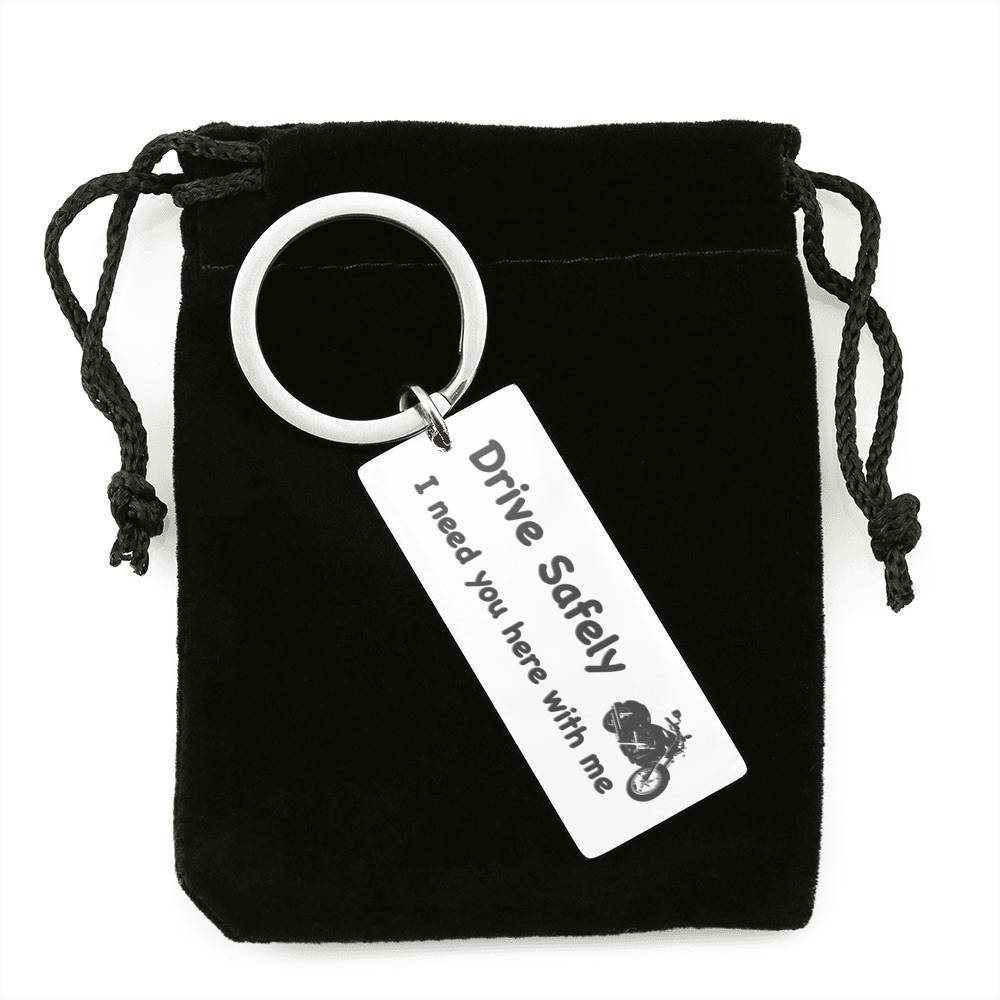 Drive Safely - Keychains