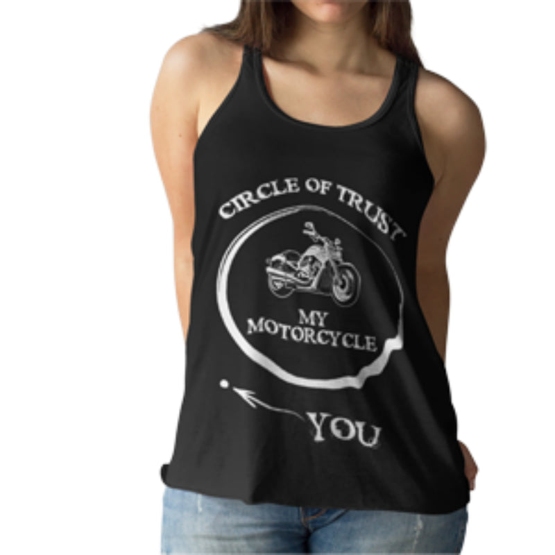 Ladies' Softstyle Racerback Circle Of Trust Tank