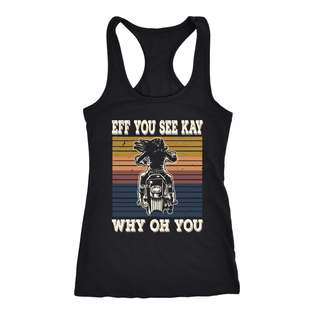 Eff You Racerback Tank Top