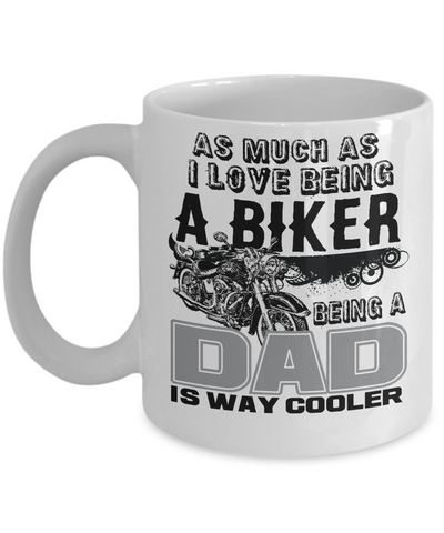 Image of Biker Dad Mug