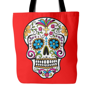 Cross Sugar Skulls Tote